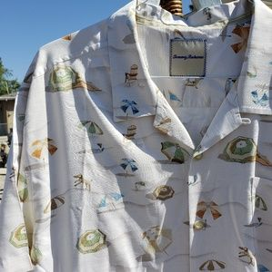 Tommy Bahama beach day shirt